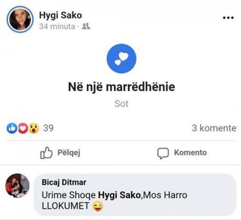 E divorcuar dhe nënë e një vajze, Hygerta Sako bën publike