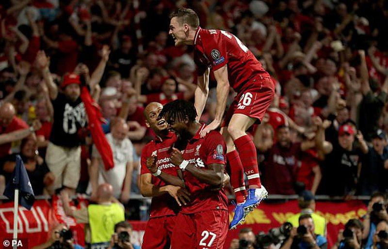 Liverpul mposht Totenhemin dhe fiton Champions League, bëhet