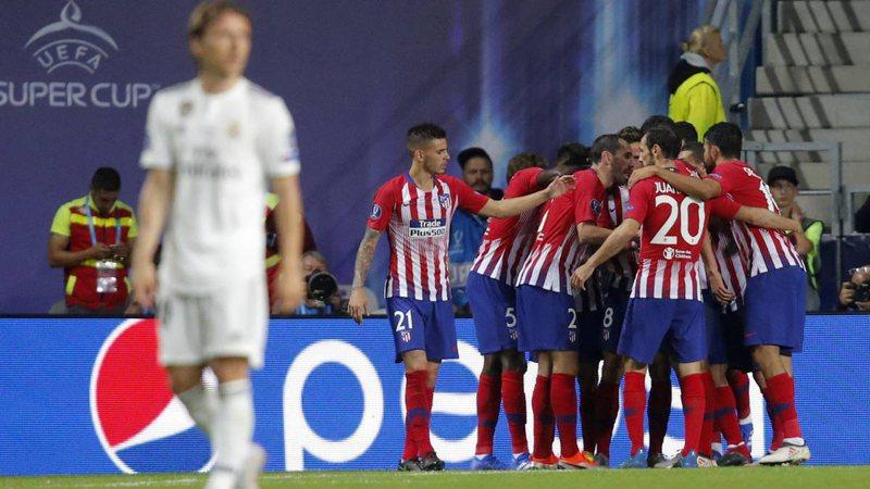 Atletico mposht Realin, dhe fiton Superkupën e Europës