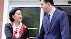 Ambasadorja Yuri Kim i zbarkon në seli Lulzim Bashës, ky