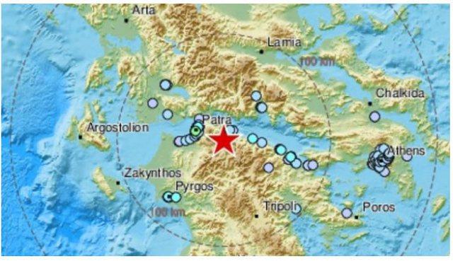 Toka nuk gjen qetësi/ Tërmeti i fuqishëm godet Greqinë, ja
