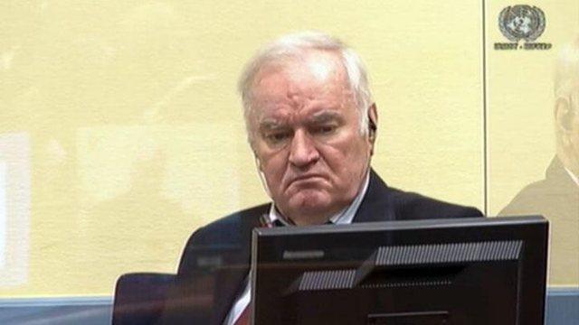 U dënua me burgim të përjetshëm, Ratko Mlladiç