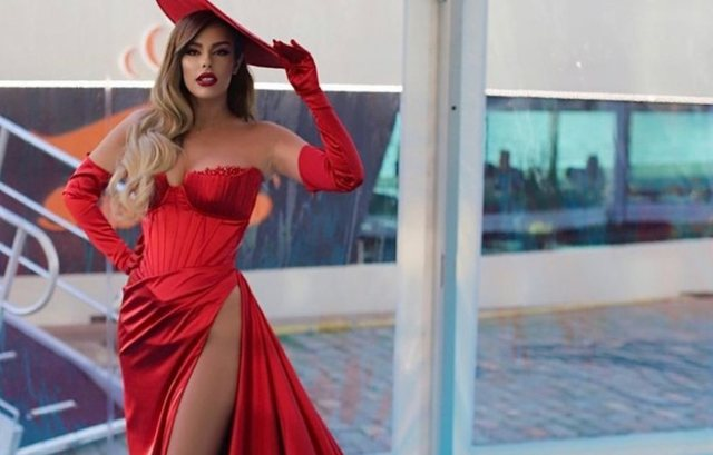 """Angela Persiteri does not know how to stop, after """"Eurovision"""", she"""