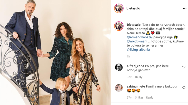 Sherri i bujshëm me Roza Latin, Bieta Sulo publikon foton dhe bën