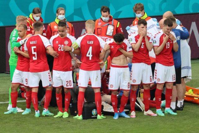 Lot dhe përqafime në EURO 2020, dalin pamjet që po thyejnë
