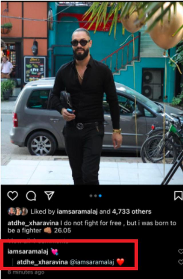 Fotoja që po 'thyen' rrjetin/ Olsa Muhameti konfirmon