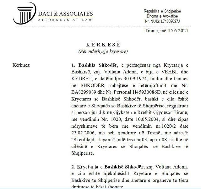 Emërimi i Pjerin Ndreut në vendin e Voltana Ademit/ Kryetarja e