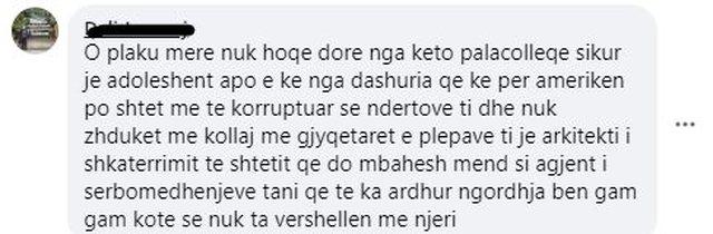 """""""Shpresoj që ta lexosh këtë koment"""", qytetarët"""