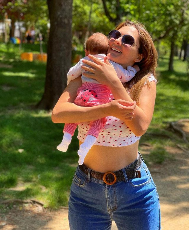 Eliona Pitarka reveals for the first time the portrait of her partner with the