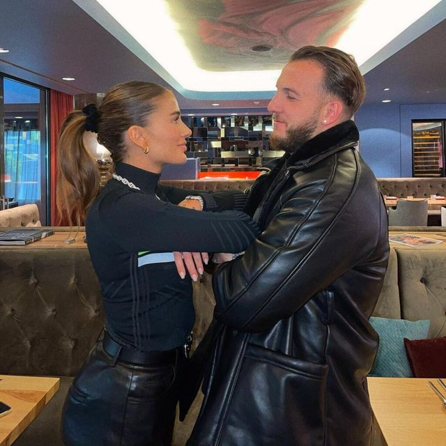 What is going on between the couple? It is not Mozzik, the famous Albanian