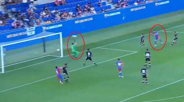 Rey Manaj scores a super goal, Barcelona praises him on social networks (VIDEO)