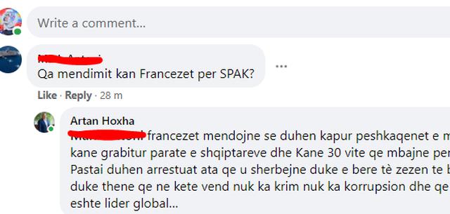 Çfarë mendojnë francezët për SPAK? Shpërthen