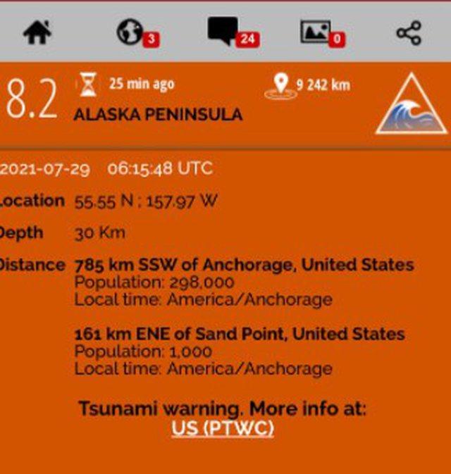 Tërmeti i fuqishëm 8.2 ballë trondit këtë shtet,