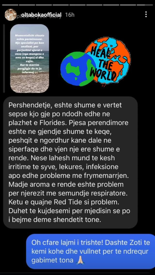 Këngëtarja e njohur shqiptare tmerrohet nga pamjet në plazhin e