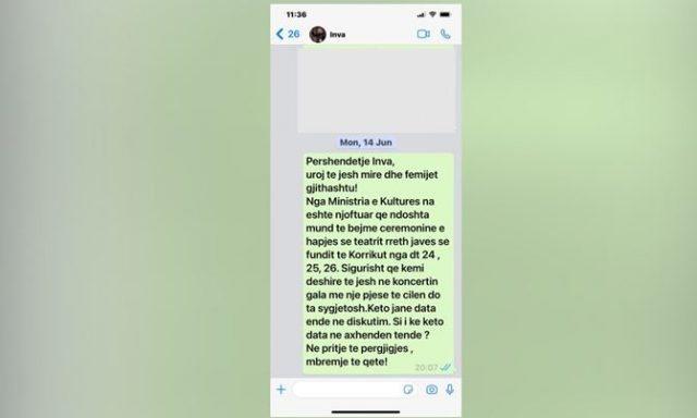 """""""Nuk do jem në Gala, s'kam ftesë zyrtare""""/ TKOB"""