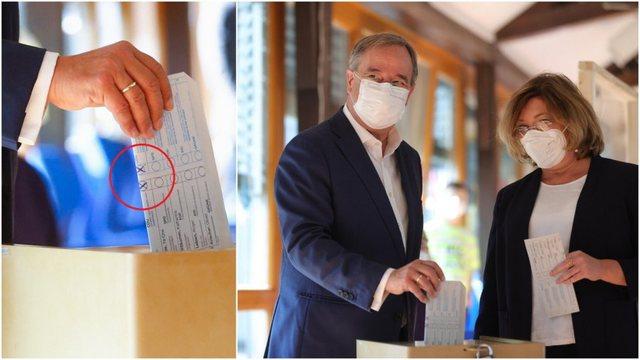 Zgjedhjet në Gjermani/ Gafa epike e politikanit me fletën e votimit po