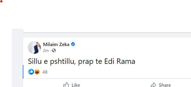 Vizita e kryeministrit Rama në Kosovë, Milaim Zeka del me