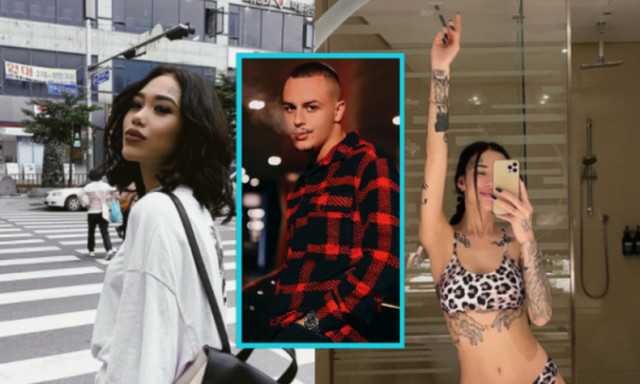 Russian model surprises everyone, tattoos the face of the famous Albanian rapper