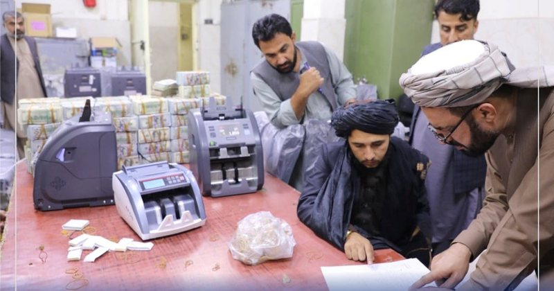 Talabans discover dizzying wealth in Afghan government houses, former president