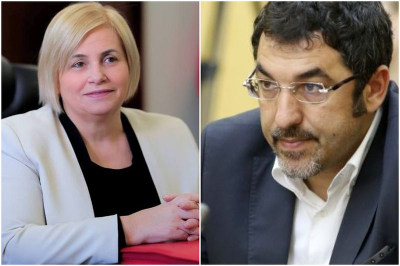Marrin detyrën zyrtarisht/ Dy ministrat e rinj, Bledi Çuçi