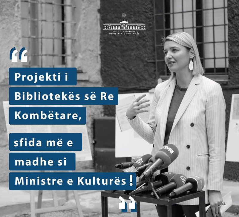 Margariti: Sfida më e madhe si ministre, projekti i Bibliotekës