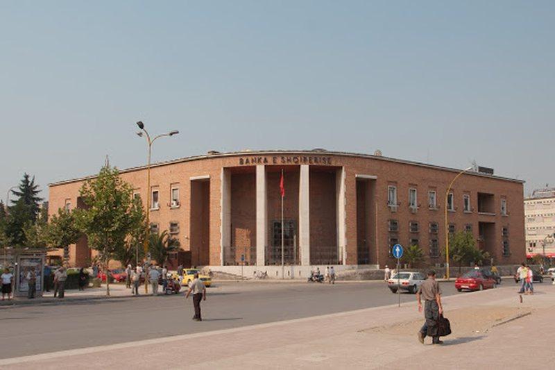 Raporti i Bankës së Shqipërisë, institucionet jobanka