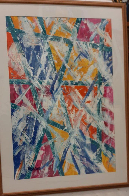 """""""Arti tek biznesi"""", një ekspozitë me punime abstrakte"""