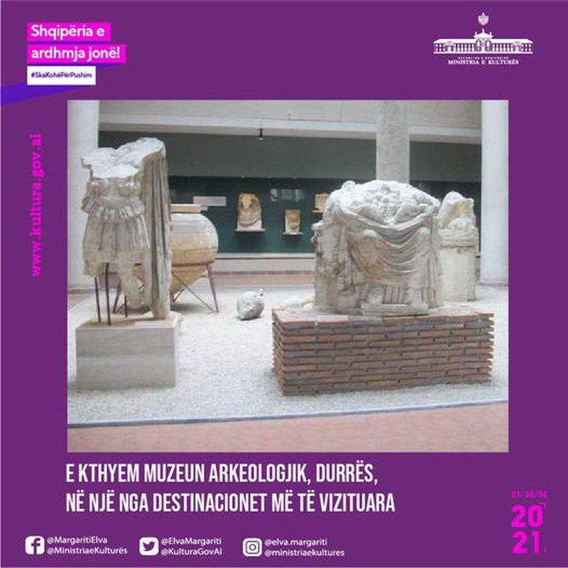 Muzeu Arkeologjik në Durrës, objekt i rëndësishëm