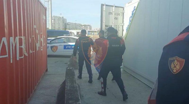 Zbulohen detaje nga kontejneri me kokainë në portin e Durrësit,