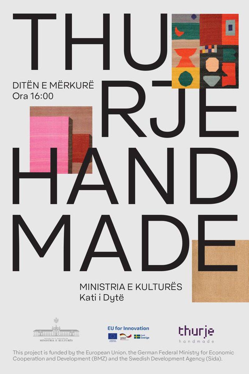 """Instalacioni """"Thurje Handmade"""" ekspozohet në Pavionin e Artit,"""