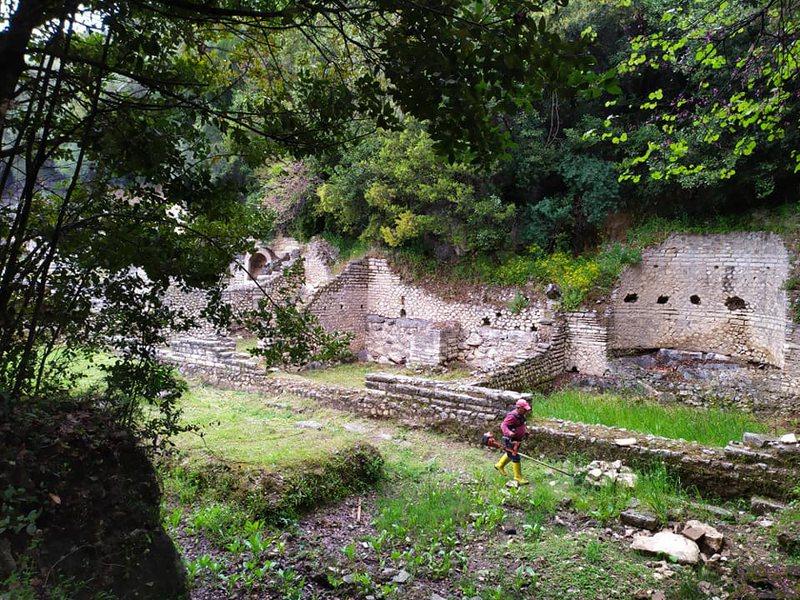 Parku i Butrintit, vazhdon puna për mirëmbajtjen e qytetit antik