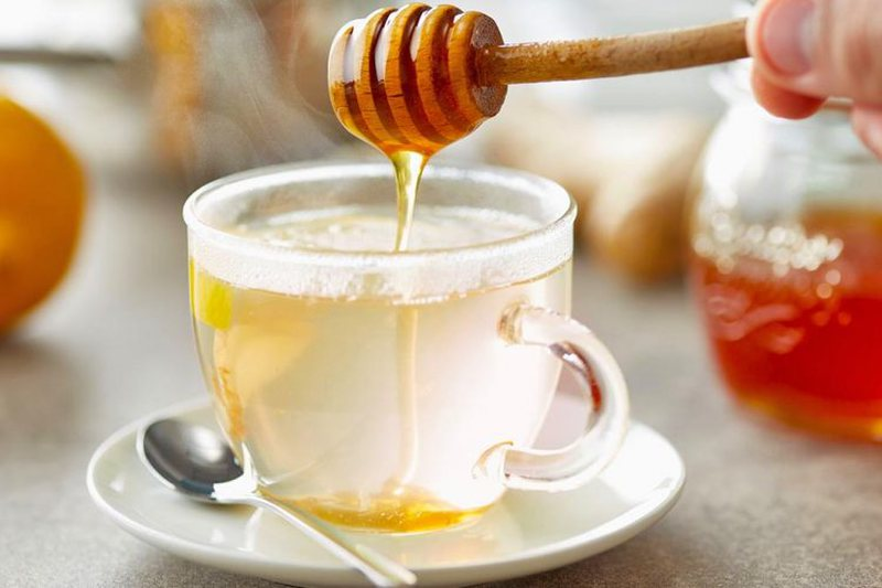 Strengthens immunity / Drink sober a glass of this mixture in the morning and