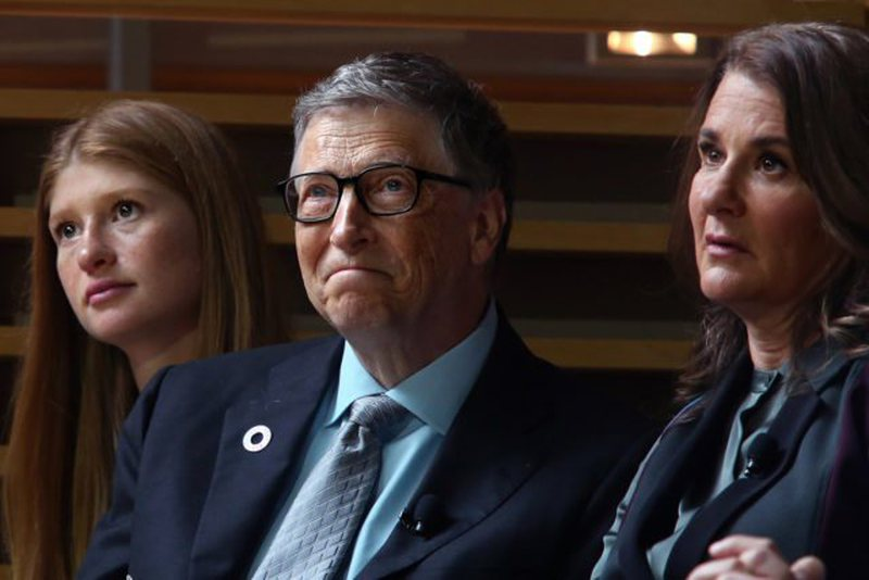 Bill Gates ended his 27-year marriage to Melinda, their daughter reacts for the