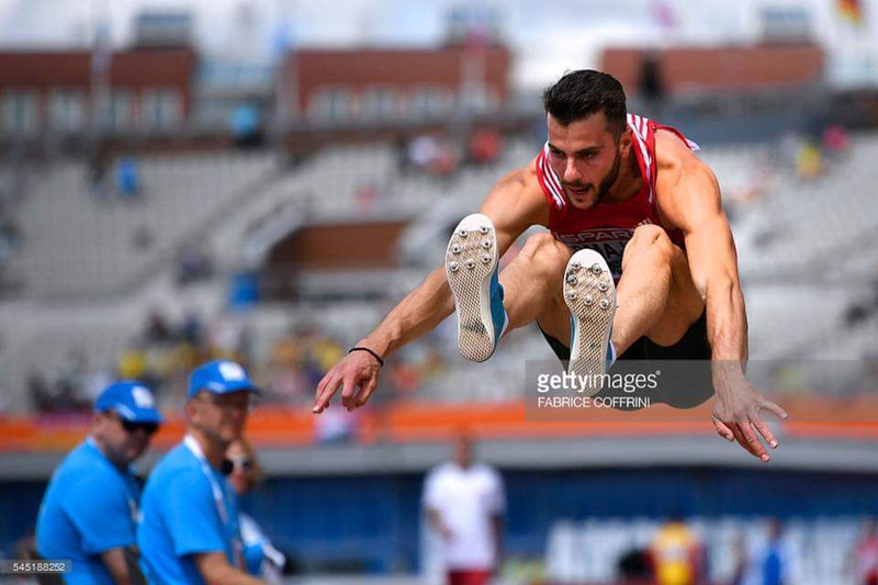 Izmir Smajlaj breaks national record in long jump, coach Ruli hopes for Olympics