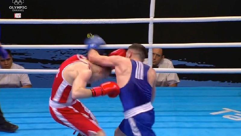 Rexhildo Zeneli, another finalist of the Balkan Boxing Championship