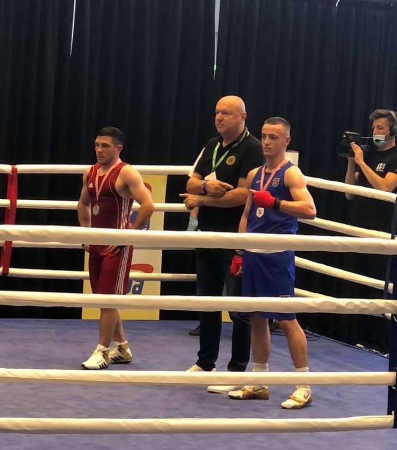 2 medalje ari e 3 argjendi për Kombëtaren e boksit në Ballkanikun