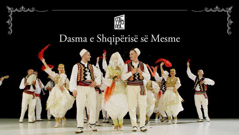 """Ansambli """"Tirana"""" prezanton motivet e Dasmës së"""