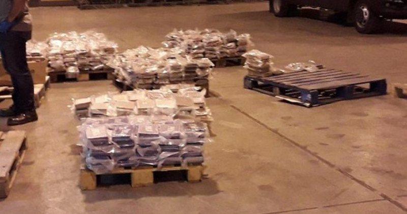 Drogë nga Ekuadori, policia kap 740 kg kokainë me vlerë