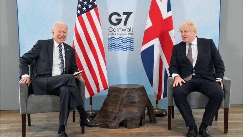 """Joe Biden takim """"kokë më kokë"""" me kryeministrin Boris"""