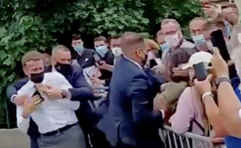 Slap Emmanuel Macron, court sentences 28-year-old Frenchman to prison