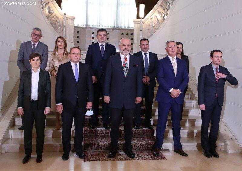 Samiti i Ballkanit Perëndimor, Rama këmbëngul për hapjen e