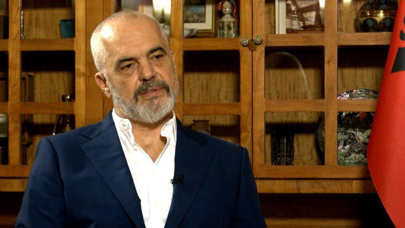 Kryeministri Rama intervistë për Euronews Serbia, komenton padinë