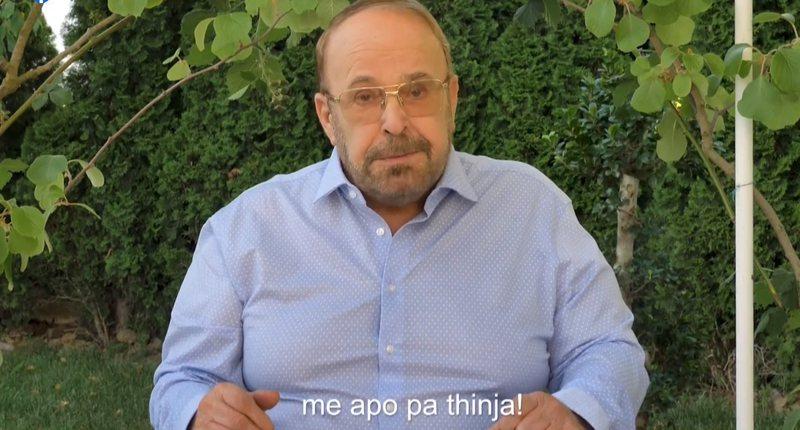 """""""Përshëndetje Edi"""", Fatos Nano shfaqet në"""