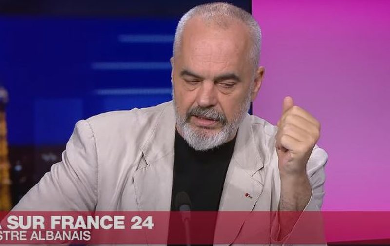 Prime Minister Rama for 'France 24': This is very important news