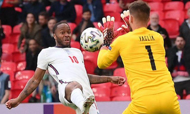 Shënohet gol në ndeshjen mes Çekisë dhe Anglisë