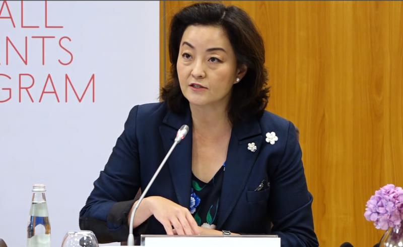 """Enough with pretending"" / Ambassador Yuri Kim speaks in harsh tones"