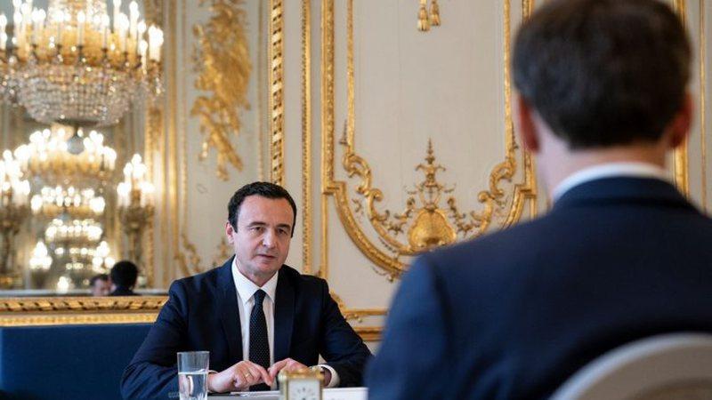 Takimi Kurti-Macron zv.kryeministrja e Kosovës zbulon çfarë u