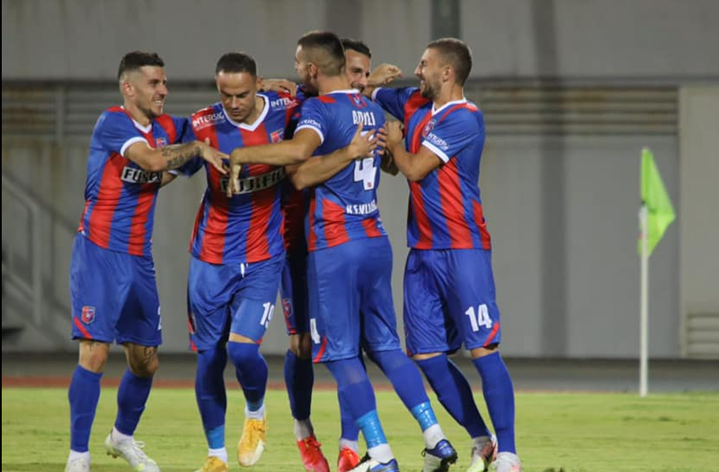 While monitoring UEFA, the Cypriots of Ael Limassol take the match with Vllaznia