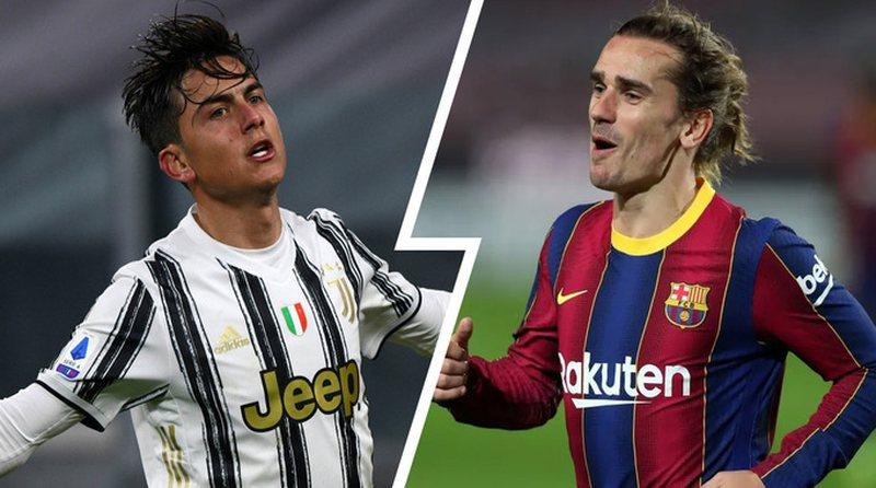 Juventus-Barça conceive big move, Dibala-Griezman exchange will go