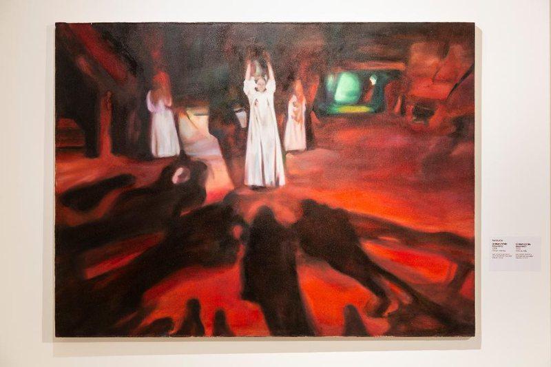"Exhibition ""Italian Twist"" participating Albanian artist Iva Lulashi"